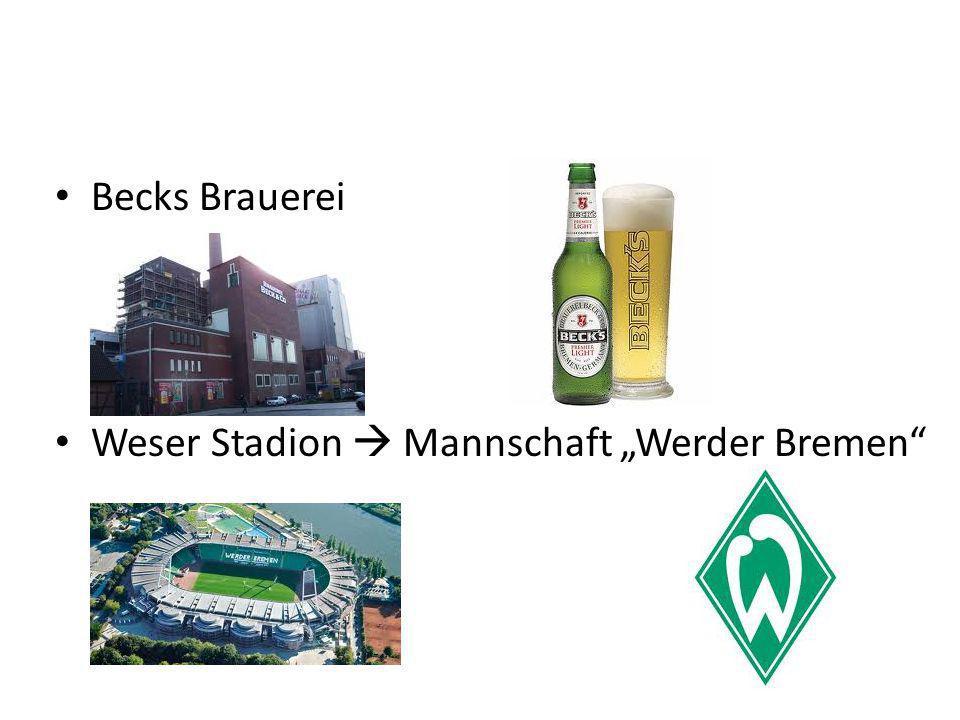 Becks Brauerei Weser Stadion Mannschaft Werder Bremen