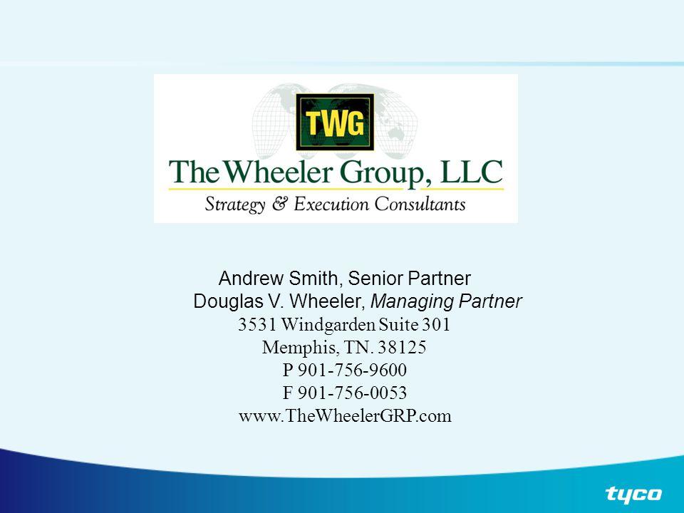 Andrew Smith, Senior Partner Douglas V. Wheeler, Managing Partner 3531 Windgarden Suite 301 Memphis, TN. 38125 P 901-756-9600 F 901-756-0053 www.TheWh