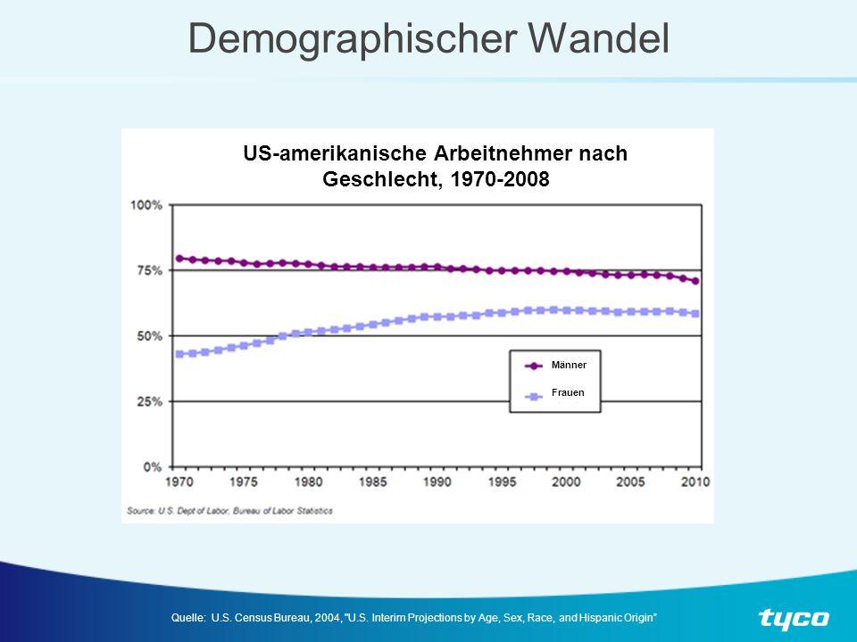 Demographischer Wandel Quelle: U.S.Census Bureau, 2004, U.S.