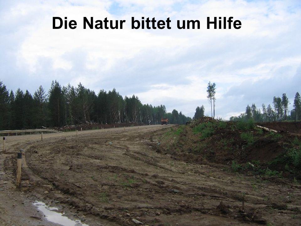 Die Natur bittet im Hilfe Die Natur bittet um Hilfe