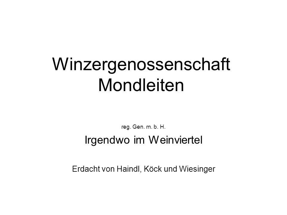 Winzergenossenschaft Mondleiten reg. Gen. m. b.