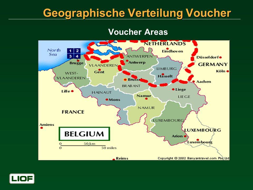 Voucher Areas Geographische Verteilung Voucher