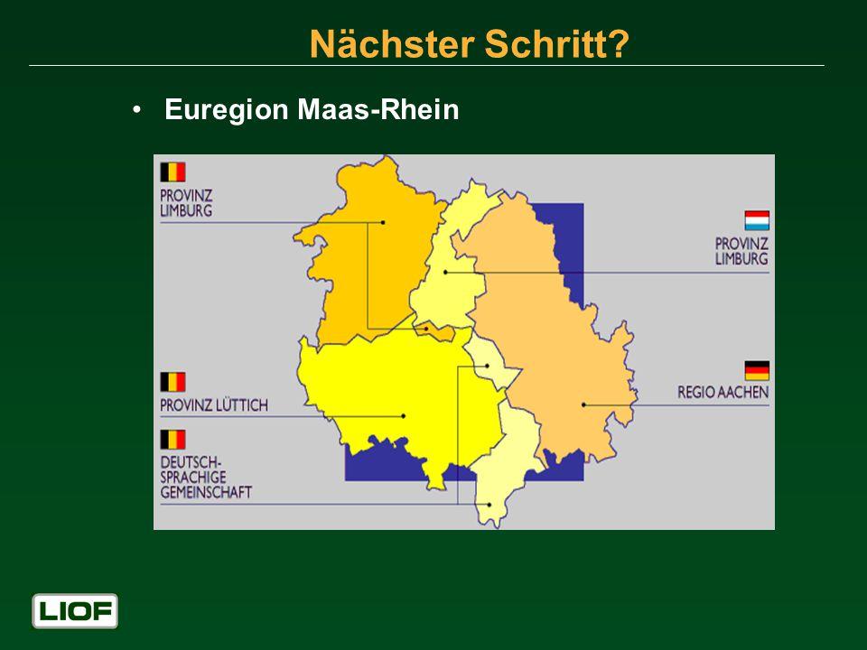 Nächster Schritt? Euregion Maas-Rhein