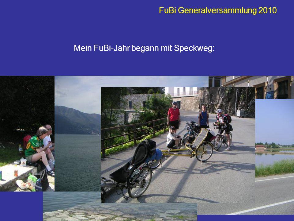 FuBi Generalversammlung 2010 … und dann der Maibummel am Bielersee….