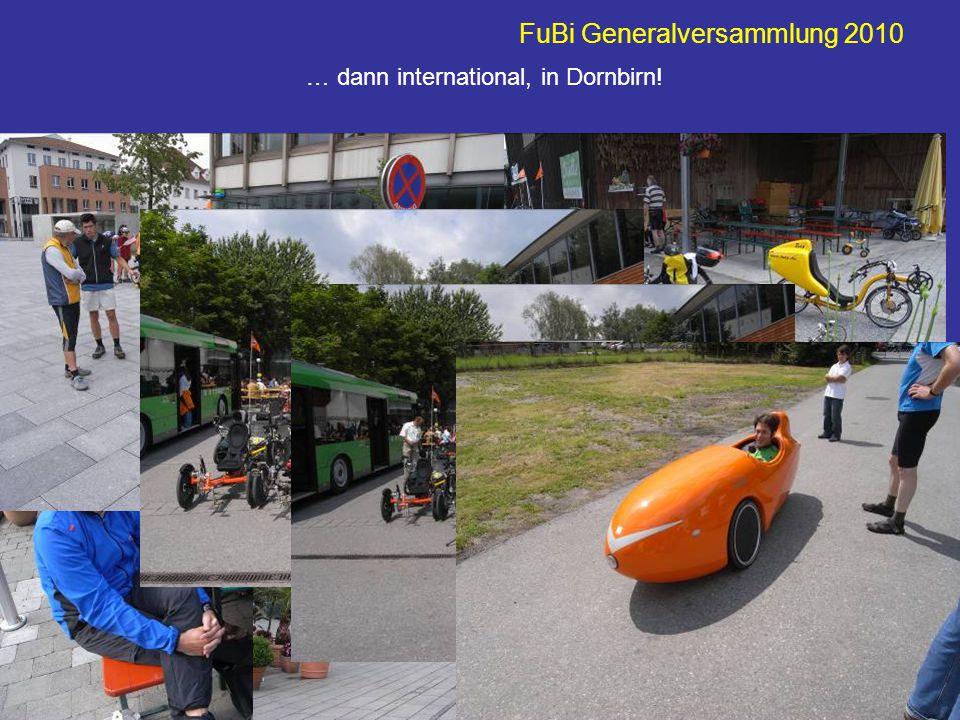 FuBi Generalversammlung 2010 Was fehlt noch? Ich glaube, Glaubenberg…!?