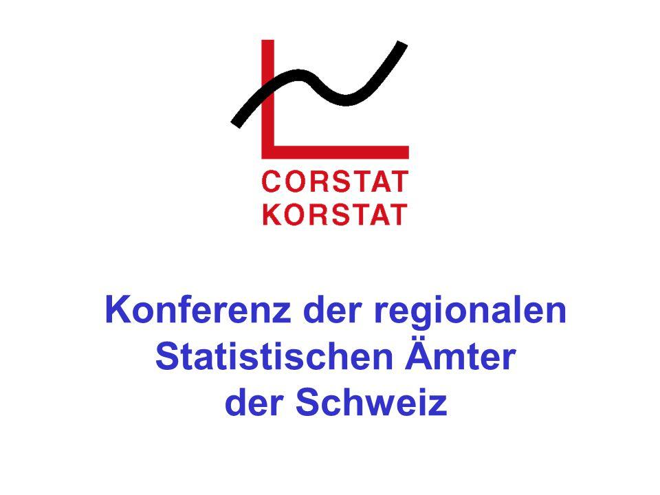 Konferenz der regionalen Statistischen Ämter der Schweiz