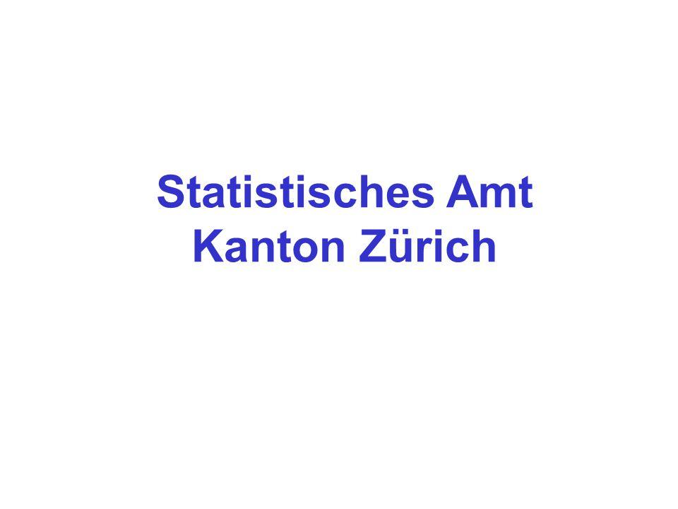 Neues Data Warehouse beim Statistischen Amt des Kantons Zürich e-Government-Projekt e-Statistics April 2002 – Dez.