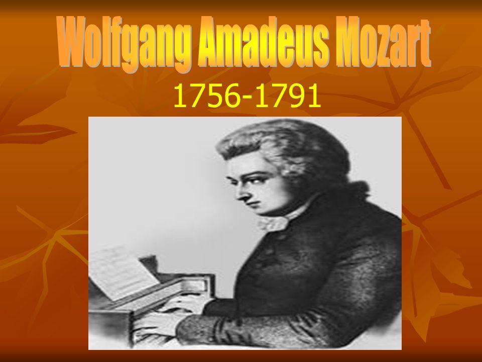 Geburtsdatum 27.Januar 1756 Geburtsort Salzburg Todesjahr 5.
