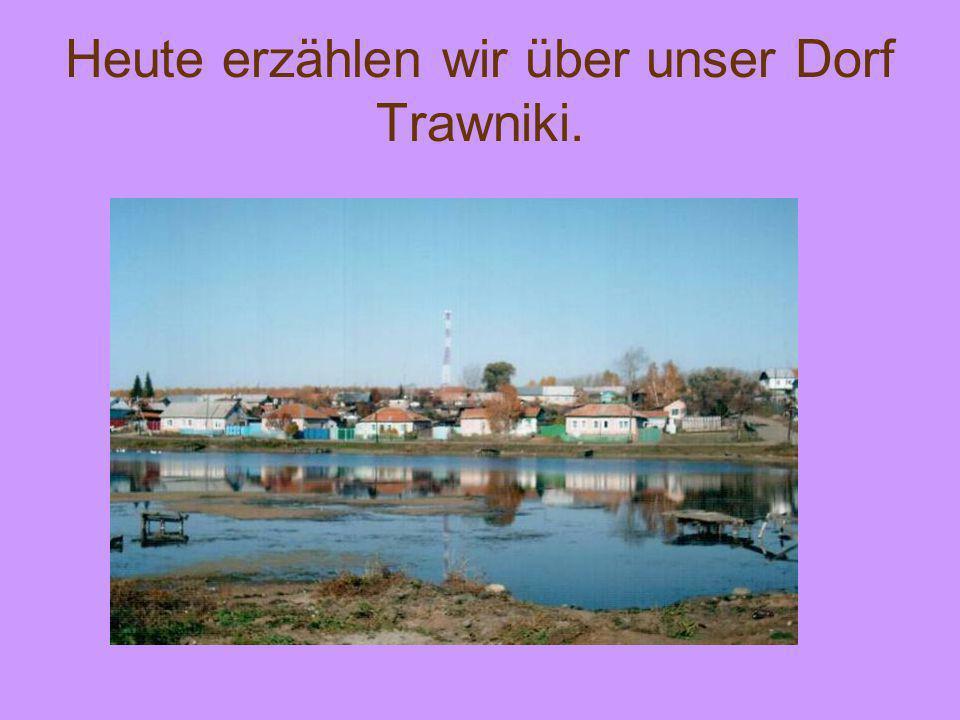 Heute erzählen wir über unser Dorf Trawniki.