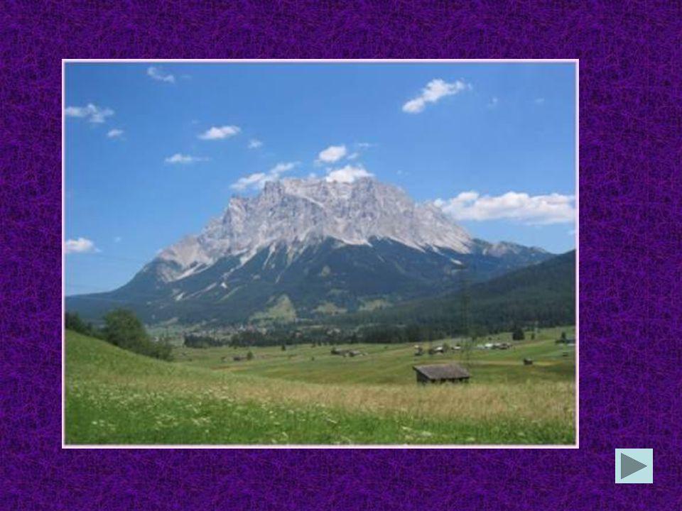 In Deutschland ist die Zugspitze die gröβte Stadtdie gröβte Stadt der höchste Berg das kleinste Bundesland