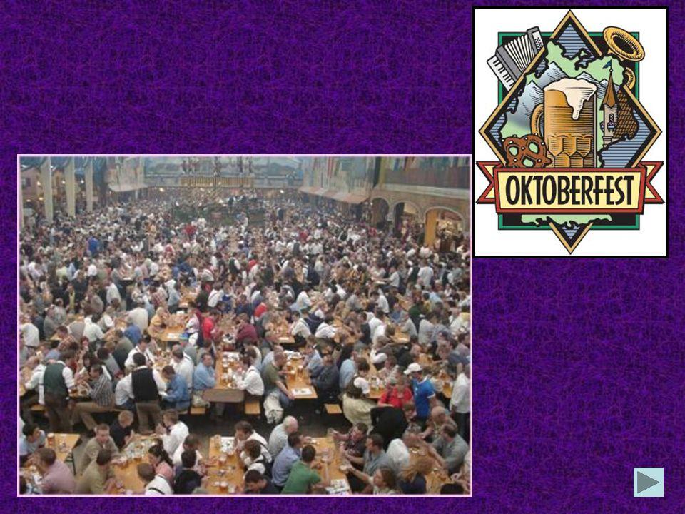 Welche Stadt ist für das Oktoberfest in der ganzen Welt bekannt? München Frankfurt Düsseldorf