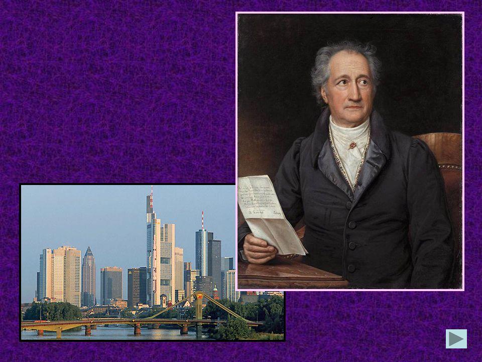 In welcher Stadt Deutschlands wurde Johann Wolfgang Goethe geboren in Leipzig in Weimar in Frankfurt am Main