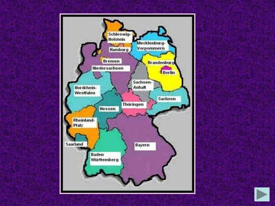 Deutschland besteht aus 12 Bundesländern 16 Bundesländern 26 Bundesländern