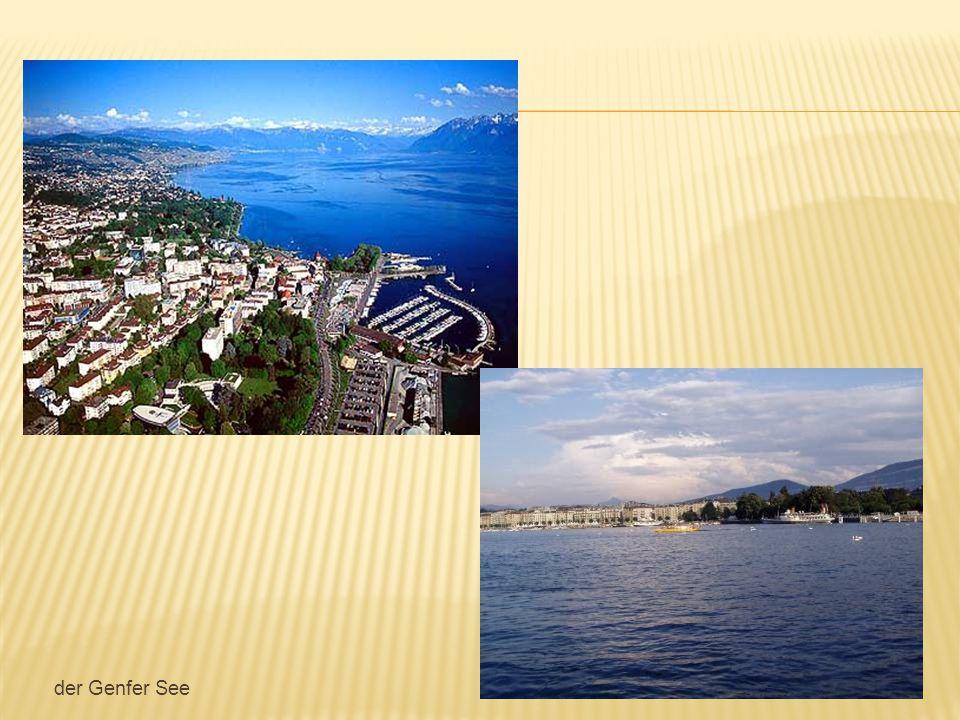 In der Schweiz gibt es viele schöne Städte.Bern – die Hauptstadt.