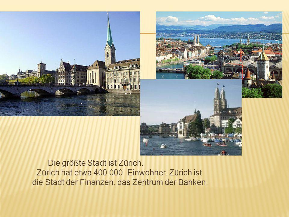 Die zweitgrößte Stadt der Schweiz ist Hauptstadt des Kantons Genf.