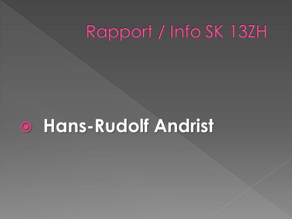 Hans-Rudolf Andrist Hans-Rudolf Andrist