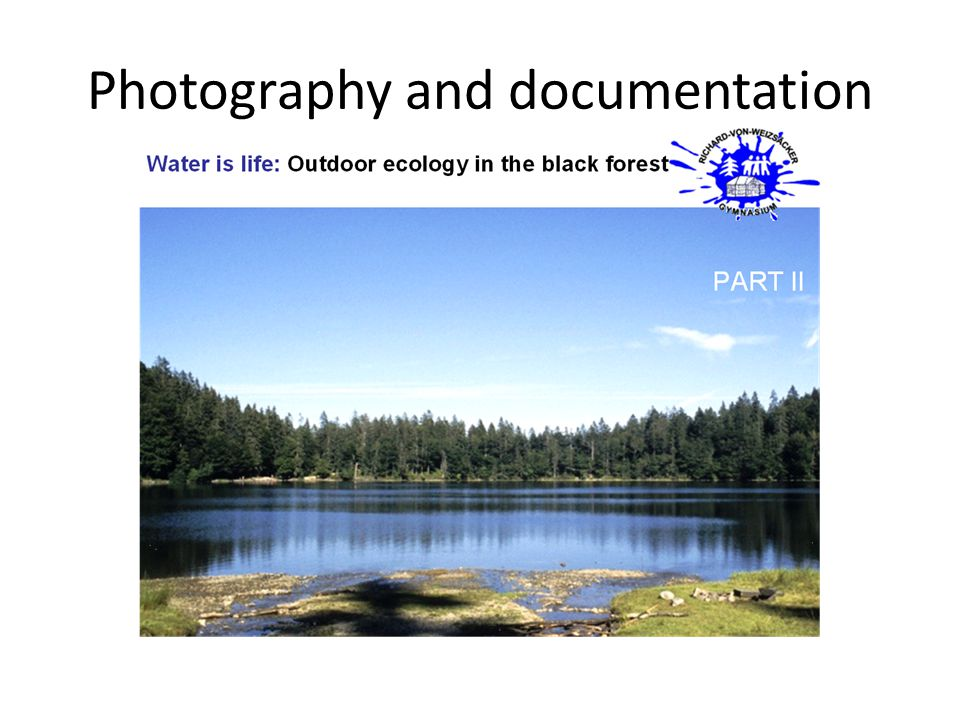Photography and documentation