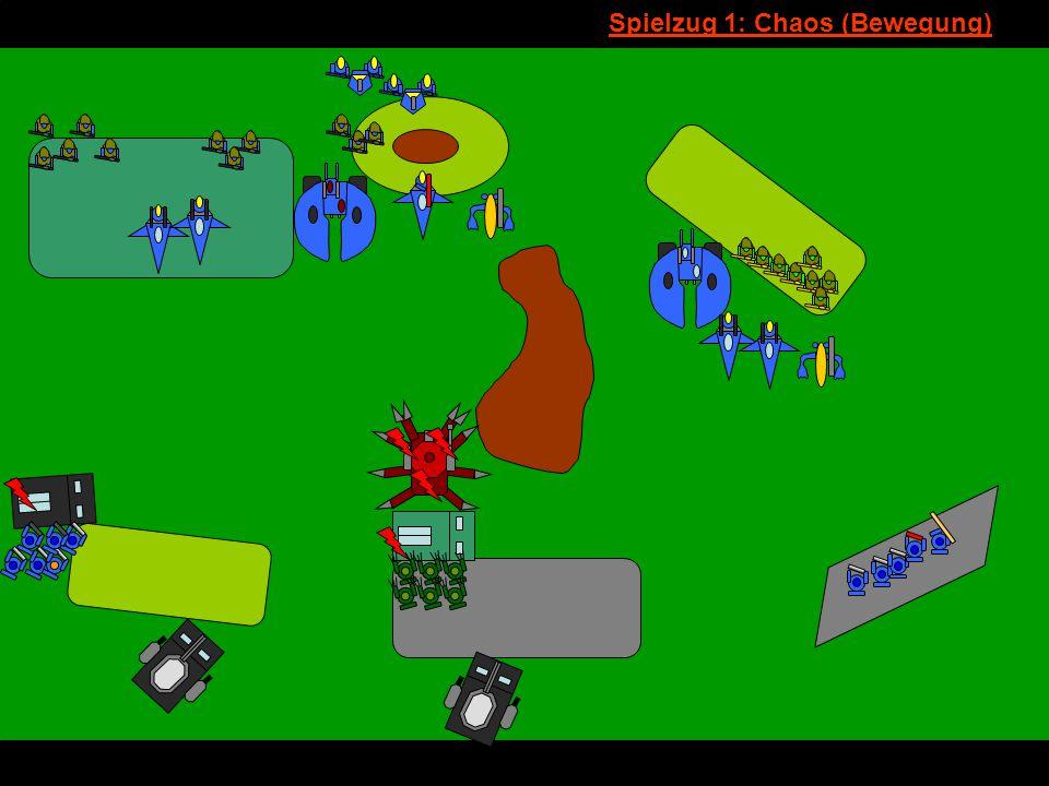 v Spielzug 1: Chaos (Bewegung)