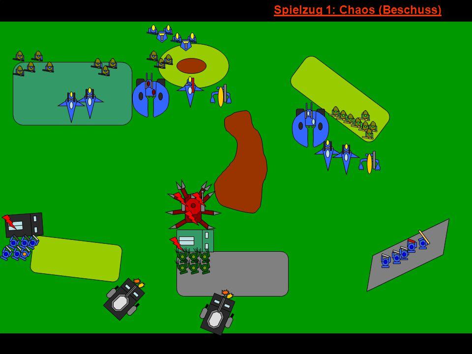 v Spielzug 1: Chaos (Beschuss)