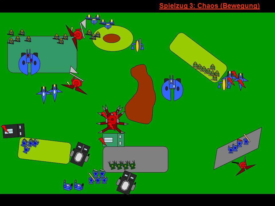 v Spielzug 3: Chaos (Bewegung)