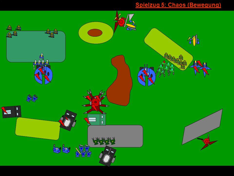 v Spielzug 5: Chaos (Bewegung)