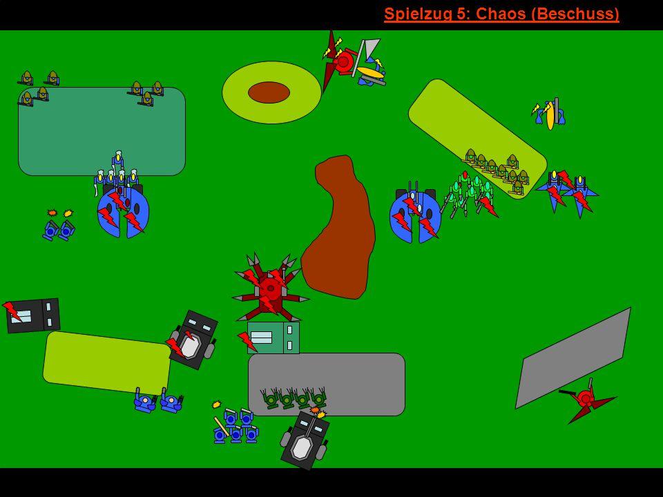 v Spielzug 5: Chaos (Beschuss)