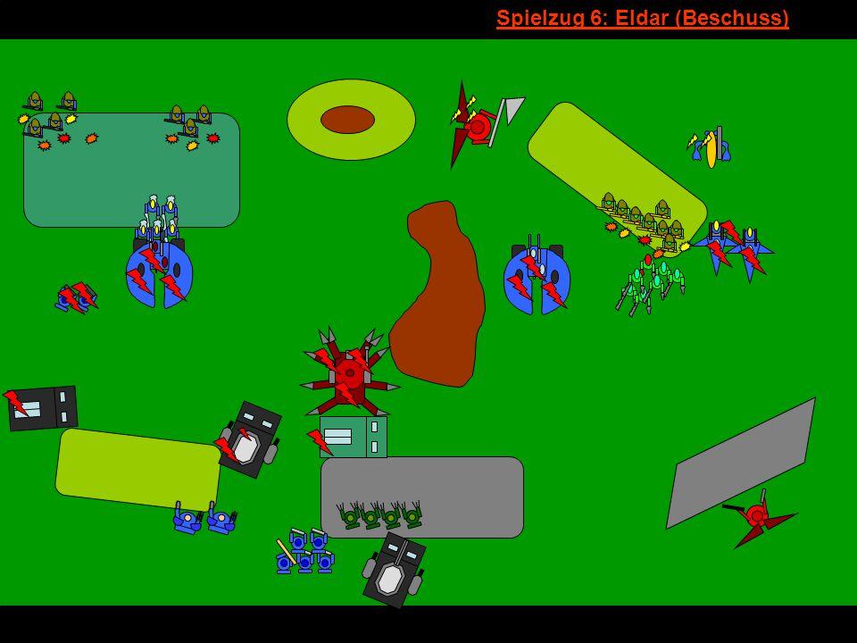 v Spielzug 6: Eldar (Beschuss)