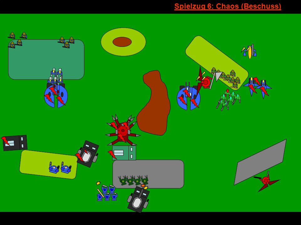 v Spielzug 6: Chaos (Beschuss)