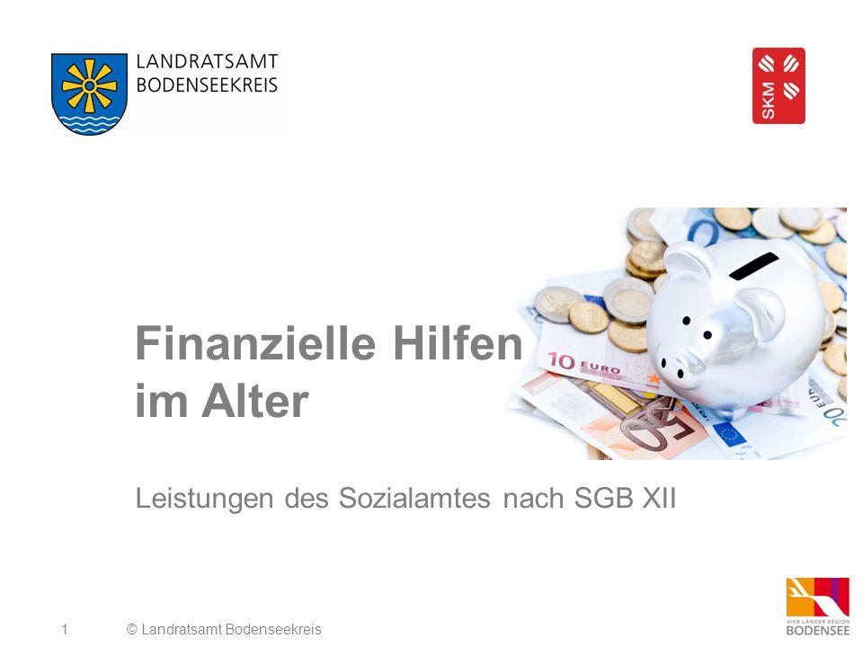 2 SGB XII 1.Hilfe zum Lebensunterhalt (3.