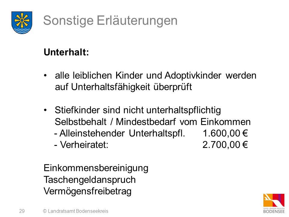 30 Erbe - Schenkung © Landratsamt Bodenseekreis Kostenersatz an Erben: Sozialhilfe der letzten 10 Jahre kann aus dem Nachlass- vermögen zurückgefordert werden.