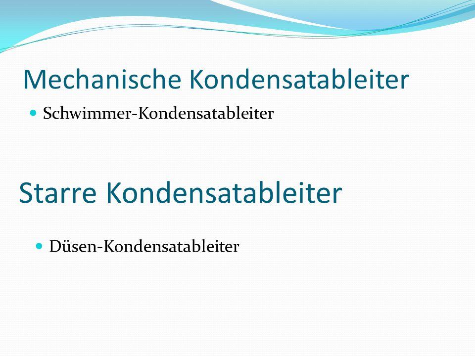 Thermische Kondensatableiter Faltenbalg-Kondensatableiter Bimetall-Kondensatableiter Thermodynamische Kondensatableiter