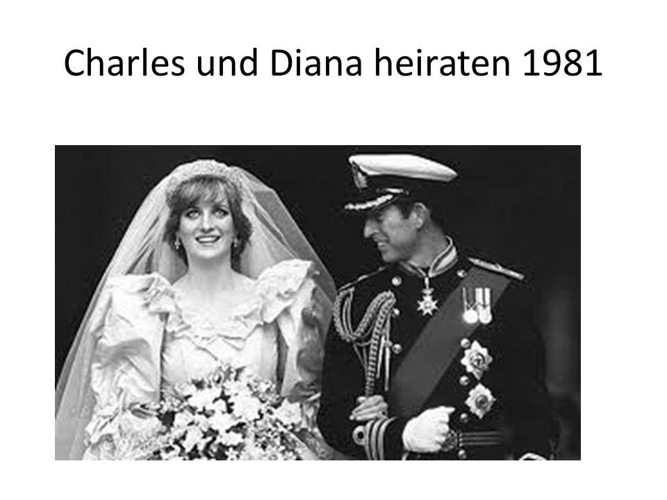 Charles und Diana heiraten 1981