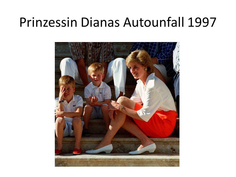 Prinzessin Dianas Autounfall 1997