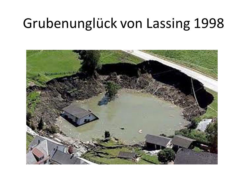 Grubenunglück von Lassing 1998
