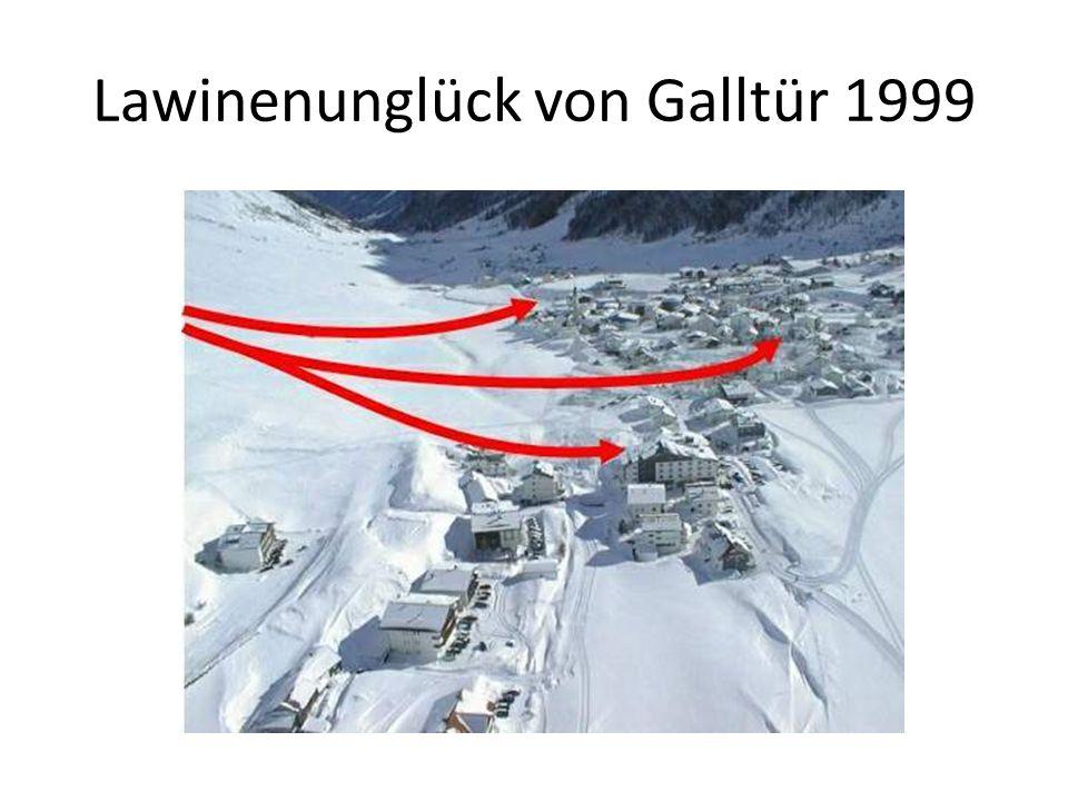 Lawinenunglück von Galltür 1999