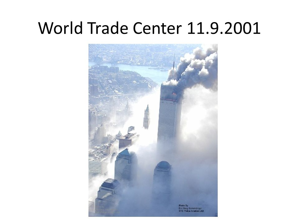 World Trade Center 11.9.2001