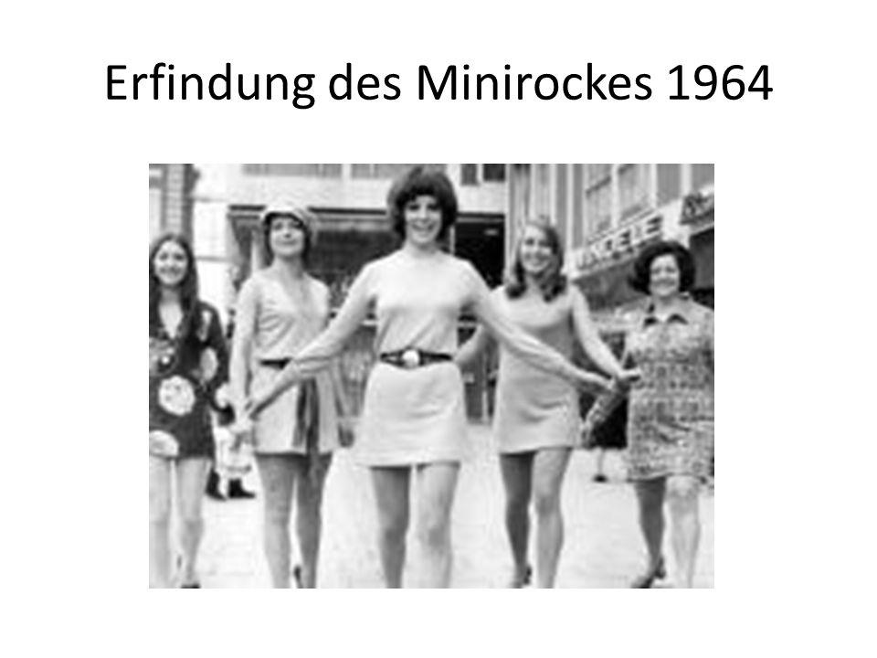 Erfindung des Minirockes 1964