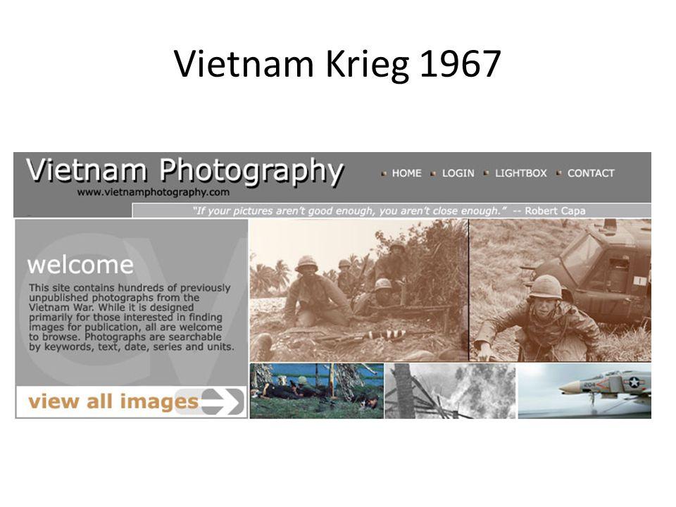 Vietnam Krieg 1967