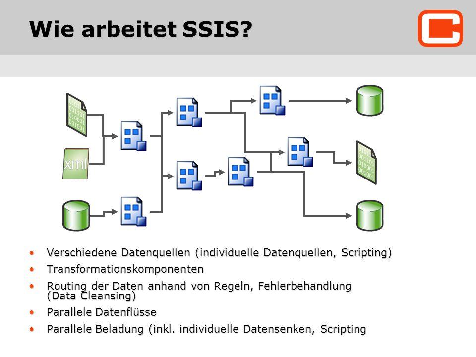 Wie arbeitet SSIS.