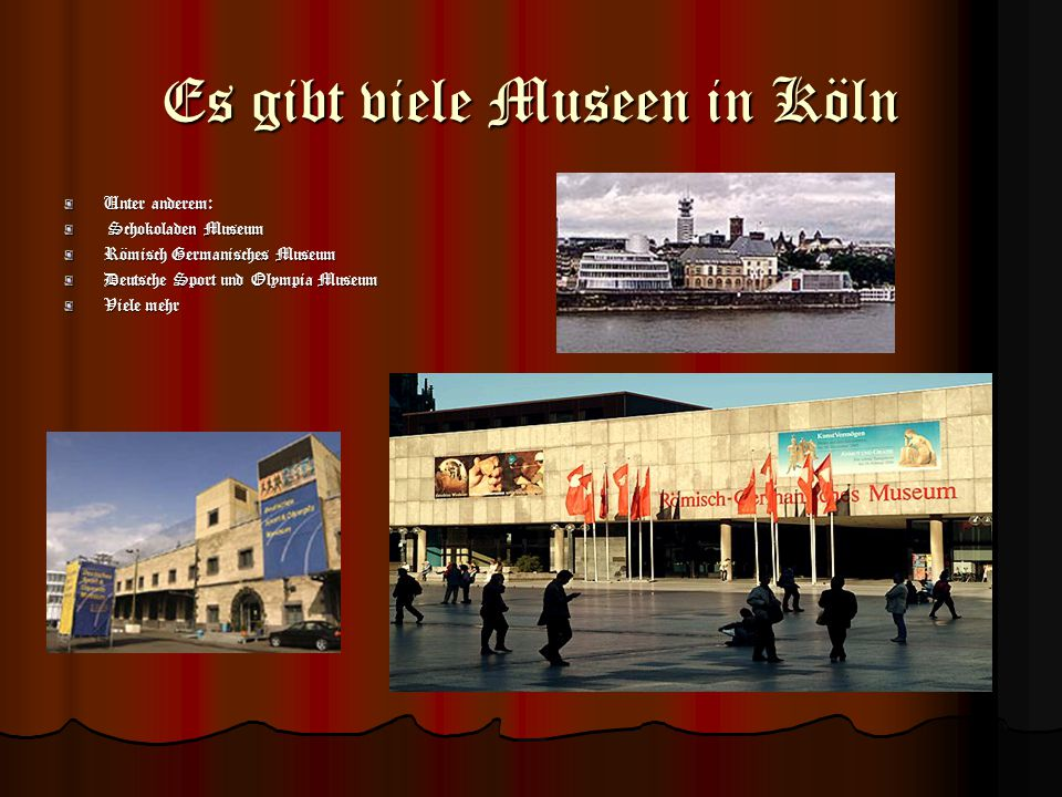 Der Dom Das Wahrzeichen von Köln Obwohl er von vierzehn schweren Fliegerbomben getroffen worden war, überstand der Dom auch den Zweiten Weltkrieg. Vie