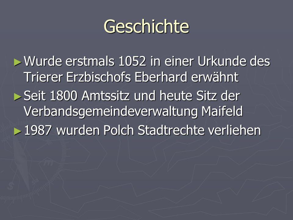 Geschichte Wurde erstmals 1052 in einer Urkunde des Trierer Erzbischofs Eberhard erwähnt Wurde erstmals 1052 in einer Urkunde des Trierer Erzbischofs