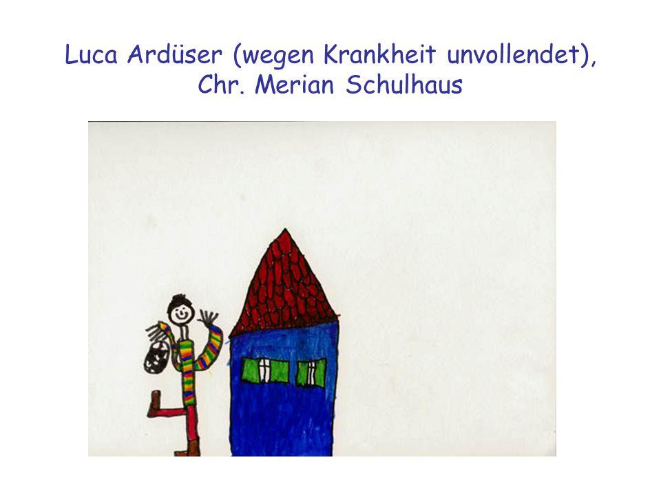 Luca Ardüser (wegen Krankheit unvollendet), Chr. Merian Schulhaus