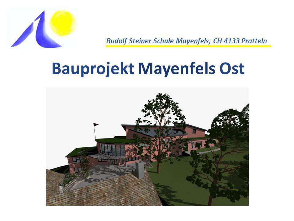 Bauprojekt Mayenfels Ost Rudolf Steiner Schule Mayenfels, CH 4133 Pratteln
