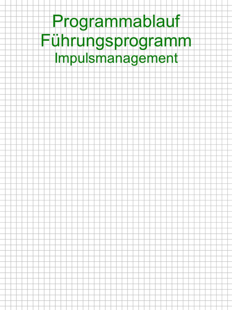 Programmablauf Teamentwicklung Kommunikationstechniken* 1.