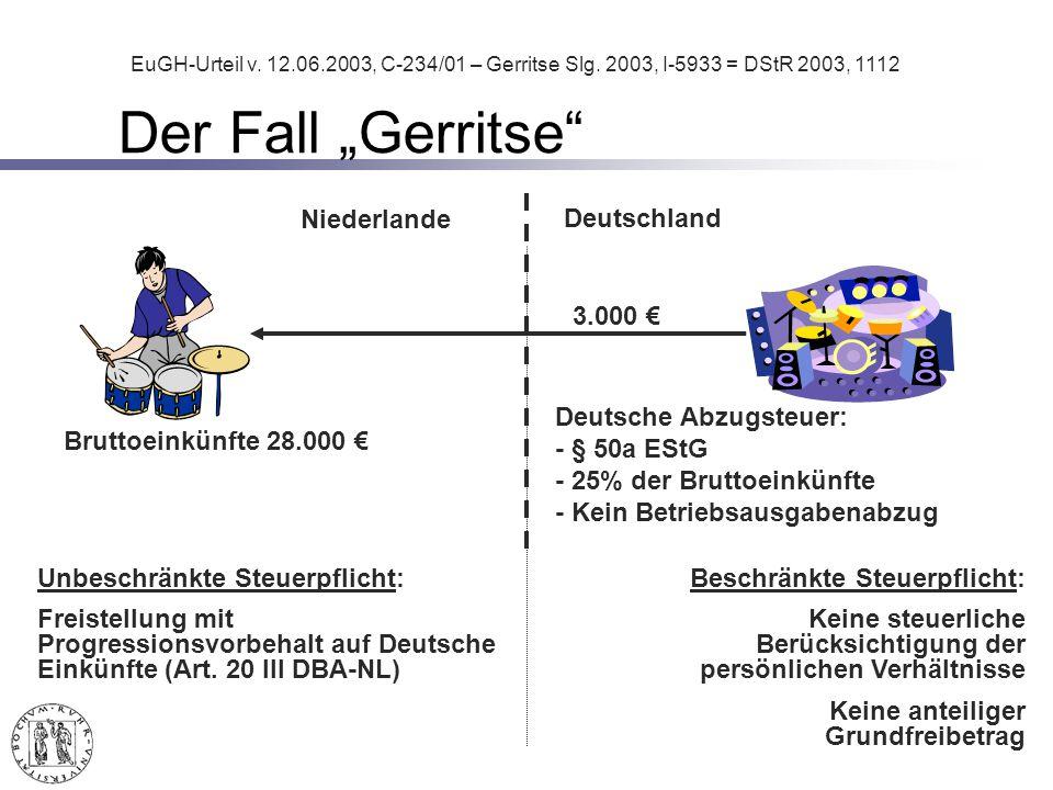 Unbeschränkte Steuerpflicht: Freistellung mit Progressionsvorbehalt auf Deutsche Einkünfte (Art.