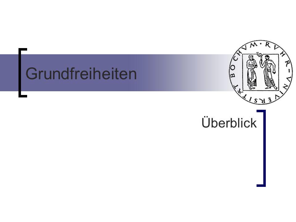 Grenzüberschreitende (Sach-)Spenden an in der EU ansässige Körperschaften werden durch die Kapitalverkehrsfreiheit ( Art.