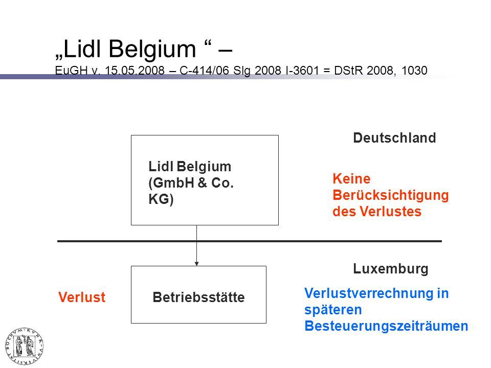 Lidl Belgium – EuGH v.