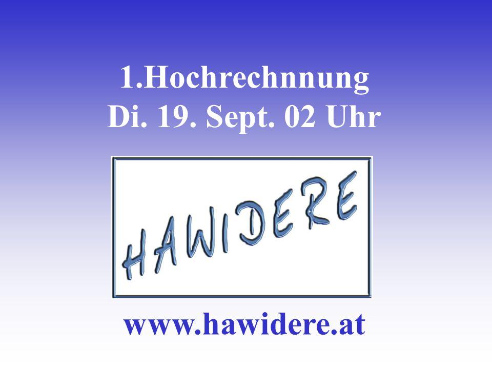 1.Hochrechnnung Di. 19. Sept. 02 Uhr www.hawidere.at