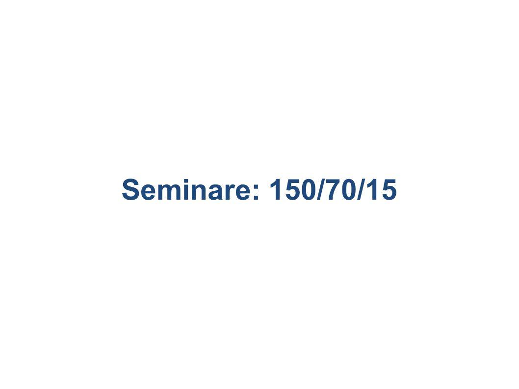 Seminare: 150/70/15