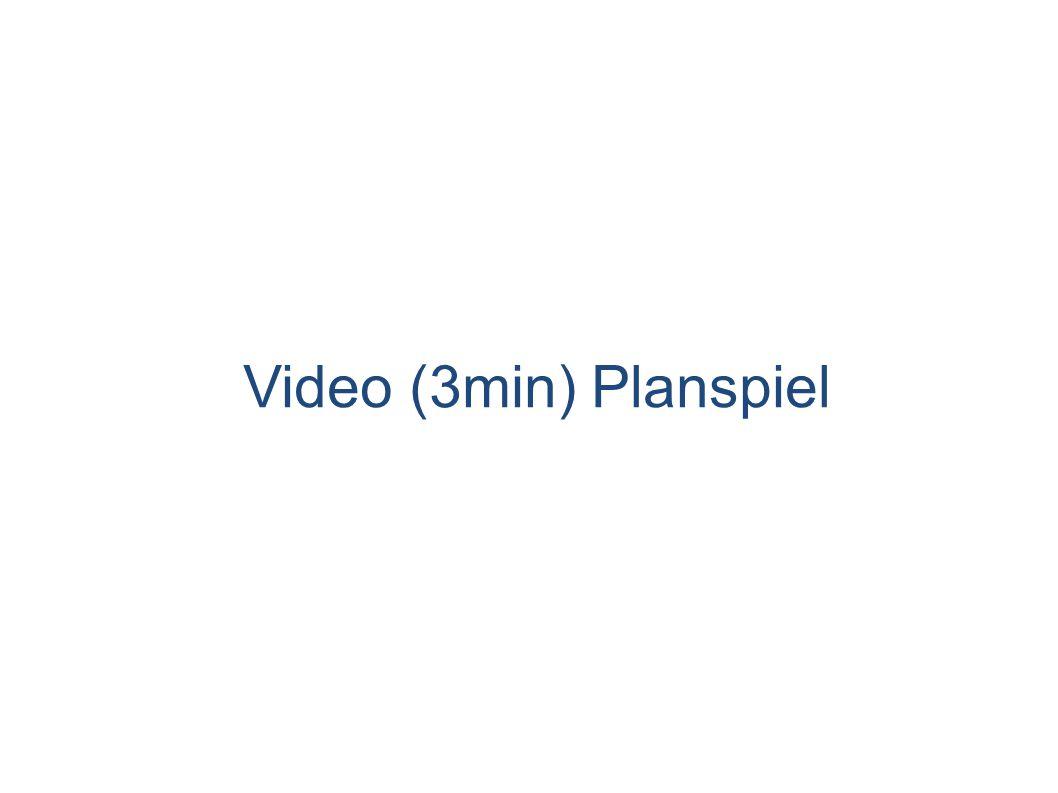 Video (3min) Planspiel